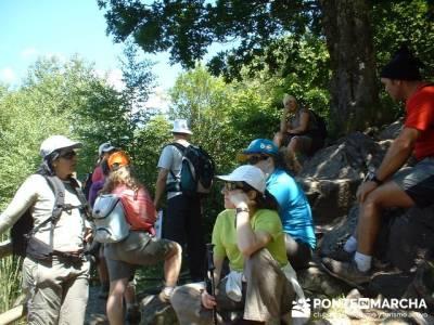 Senderismo Lago de Sanabria; mochilas de trekking; garganta divina